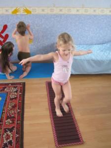 Выполнение упражнений после сна